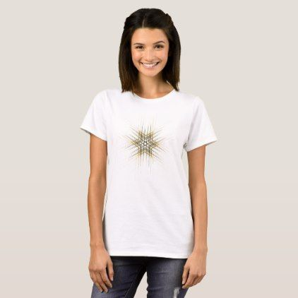 Yellow modern minimalist tattoo T-shirt custom gift ideas diy   – products
