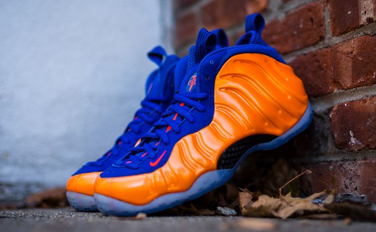 "Nike Air Foamposite One ""Knicks"" (Release Date)"