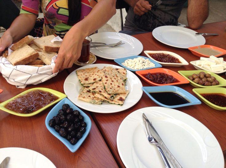 Turkish Breakfast in Ak Koy, 20 minutes from Didim with Onur Arik of Milan Estate Agents https://www.facebook.com/pages/Milan-Estate-Agents/414153708680618