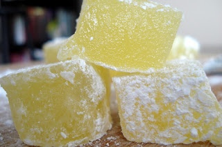 Homemade Turkish Delight (in the microwave!) http://www.brixtonblog.com/brixton-recipe-sorrel-turkish-delight/8387