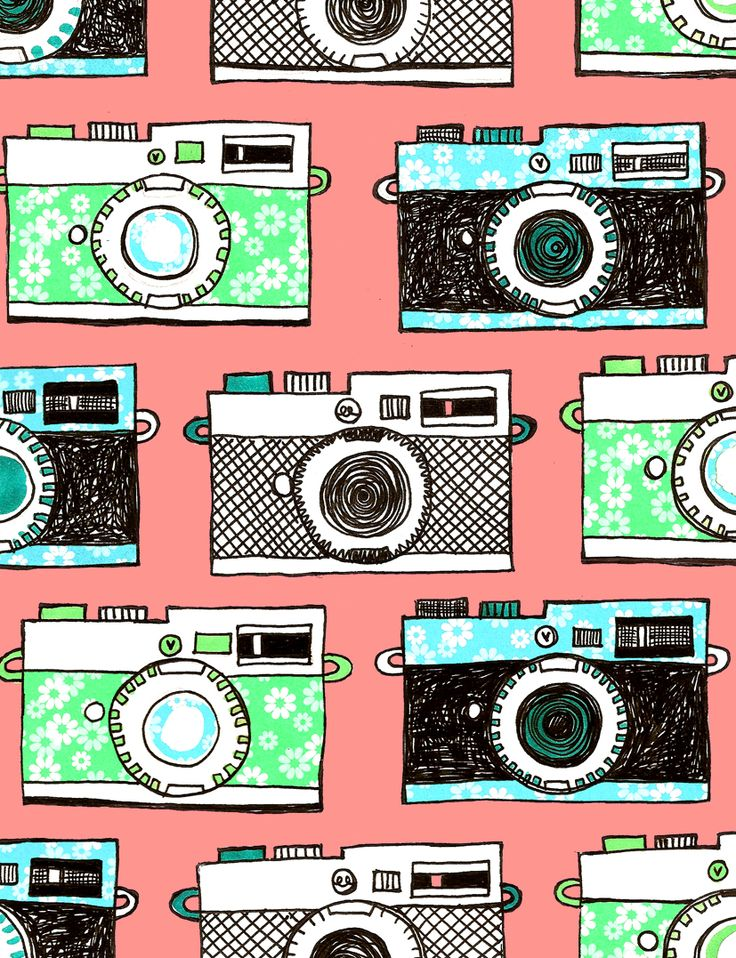 happy snaps - camera pattern