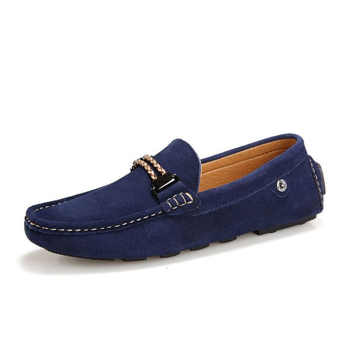 Casual Mens Loafers, Suede Moccasins Shoes