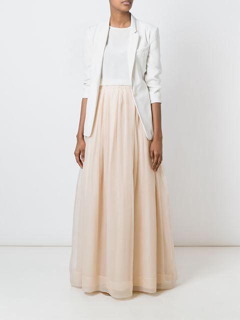Brunello Cucinelli юбка макси А-образного силуэта