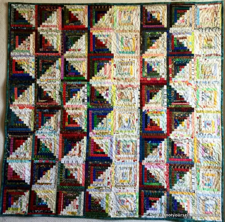 282 best Log Cabin Quilt Layouts images on Pinterest | Patterns ... : log cabin style quilts - Adamdwight.com