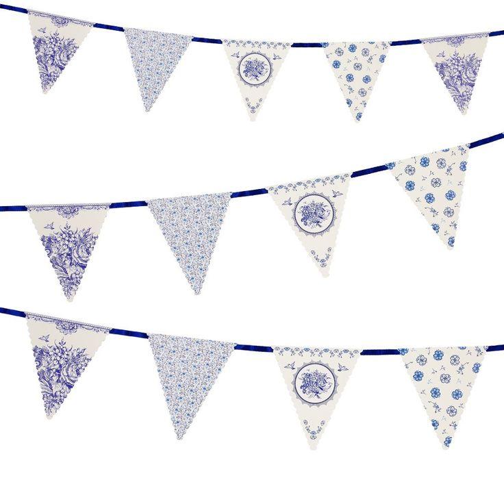 Best Party Porcelain Blue Images On   Paper Plates