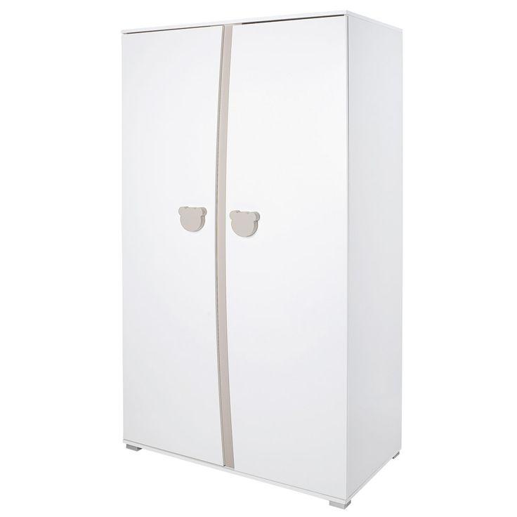 armoire 2 portes teddy de sauthon slection larmoire de bb