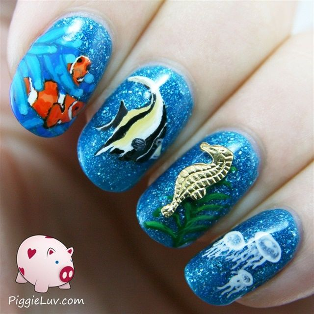 Best 25+ Beach themed nails ideas on Pinterest | Beach vacation nails, Beach  nail designs and Beach nails - Best 25+ Beach Themed Nails Ideas On Pinterest Beach Vacation