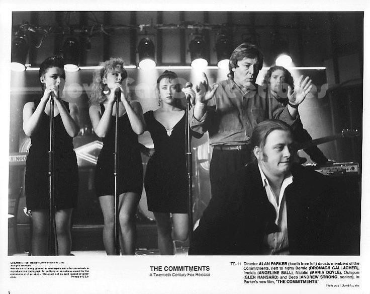 The Commitments Photo Alan Parker, Angeline Ball, Bronagh Gallagher