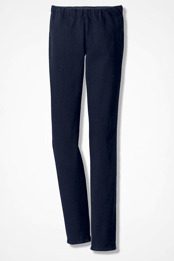 Natural Knit Denim Legging - Women's Denim | Coldwater Creek