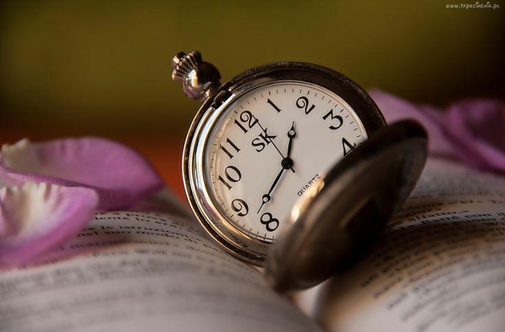 Książka, Zegarek