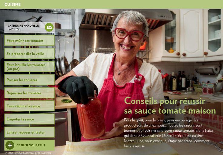 Conseils pour réussir sa sauce tomate - La Presse+