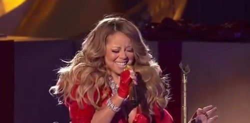 Mariah Carey Divorce Destroyed Singing: Nick Cannon Split Brings Massive Weight Gain - Christmas Tree Lighting Video