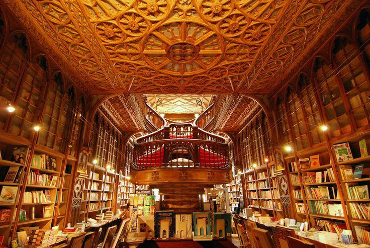 World's most beautiful bookshops.