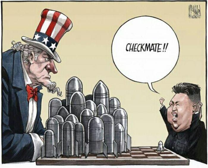 Silly North Korea