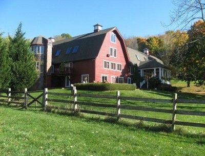 For Sale: An Old Red Barn Converted Into a House in Far Hills
