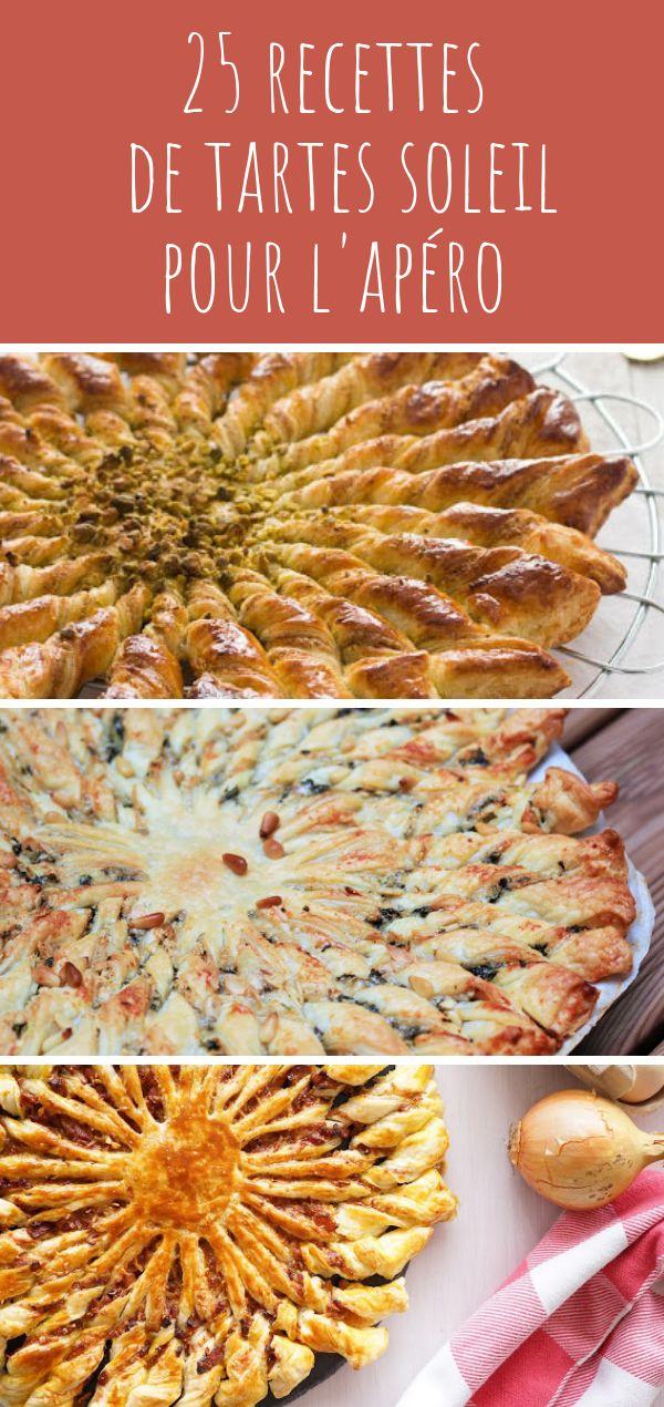 25 recettes de tartes soleil pour l'apéro – hellocoton.fr