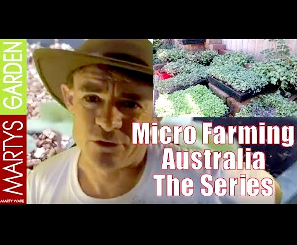 Video Series Micro Farming Australia by Marty Ware