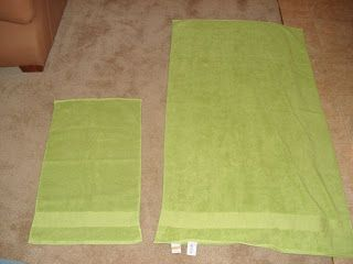 How to make a hooded towel, great baby shower gift.