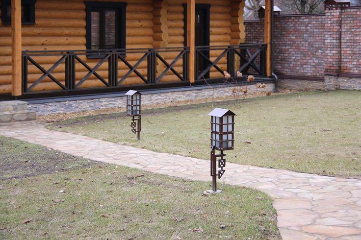 Кованые садовые фонари любой сложности! Всё для украшения ландшафтного дизайна участка и фасада дома!