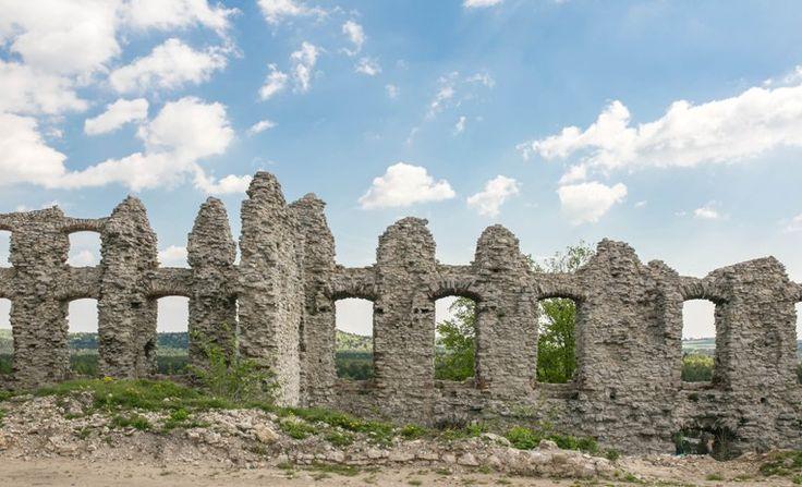 Ruiny zamku górnego - Rabsztyn