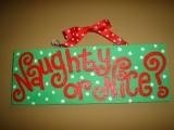 Naughty or Nice? @Bee McCollum look what i saw pinned on some stranger's pinterest board!!!!!