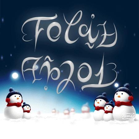 Ambigramas Tomás: Ambigrama Feliz Año 2013