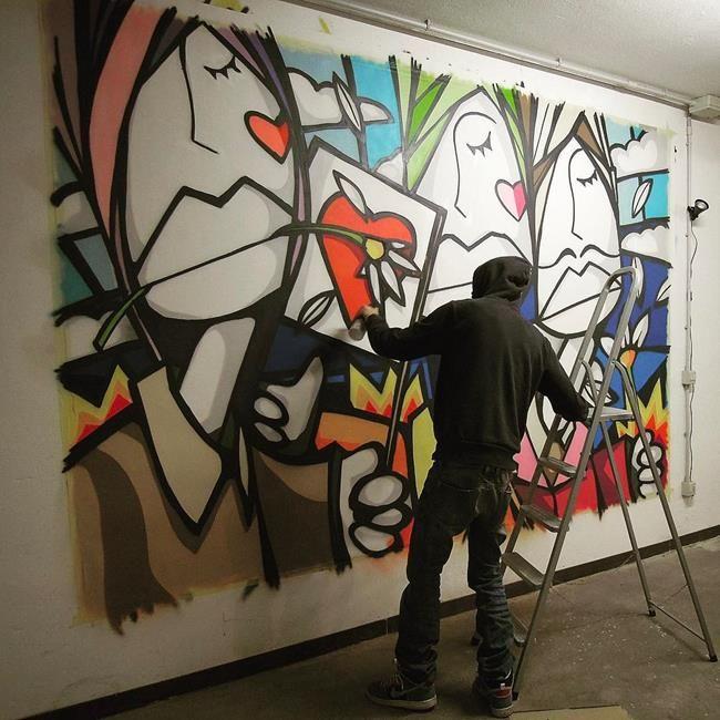 Sokakların Yeni Banksy'si Kenny Random'dan Etkileyici Sokak Sanatı Eserleri Sanatlı Bi Blog 22