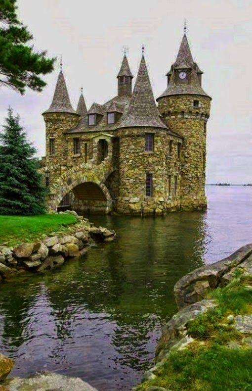 Balintore Castle in Angus, Scotland