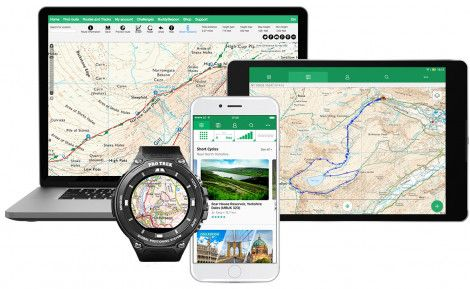 ViewRanger is a comprehensive offline GPS location, digital mapping and navigation system - App Available Free - iOS from the App Store, Android from Google Play and Kindle Fire from Amazon