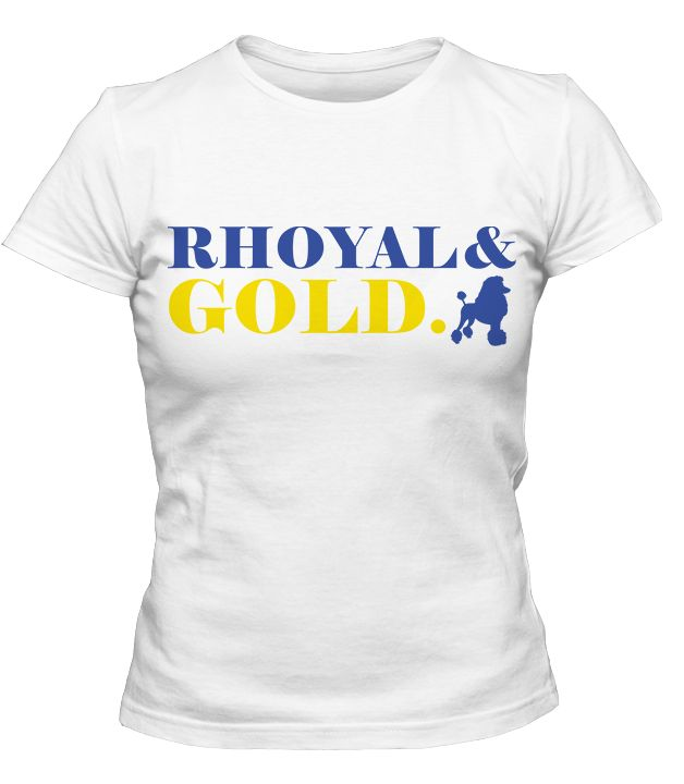 Sigma Gamma Rho Rhoyal & Gold T-Shirt