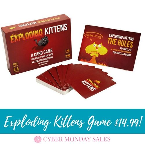 Exploding Kittens Card Game only $14.99 Shipped!