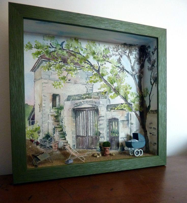 4187 Best Nichos Niches Shadow Boxes Frame Wood Niche Quadros Vitrine Dioramas Images On