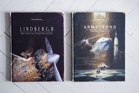 Kdo jsou pánové Armstrong a Lindbergh všichni určitě víte. Určitě? V těchto knihách jsou totiž Armstrong a Lindbergh dvě malé myš...