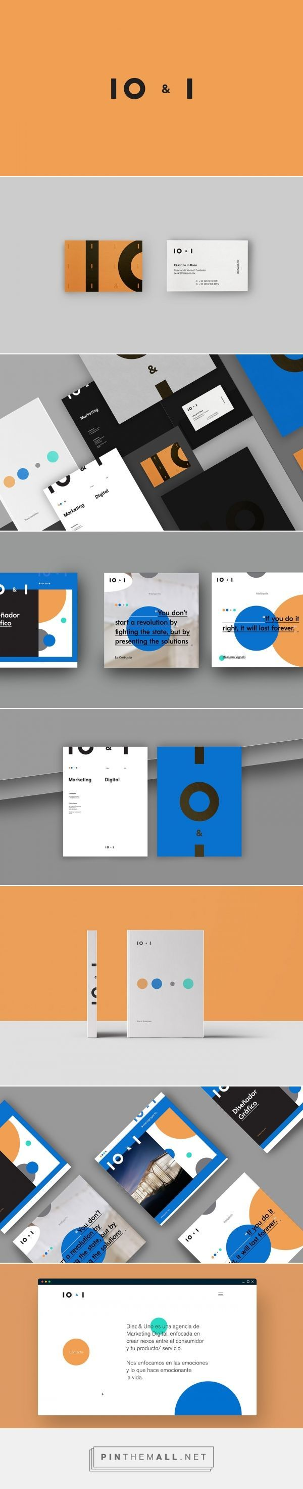 10 & Uno Digital Marketing Agency Branding by Sabbath | Fivestar Branding Agency – Design and Branding Agency & Curated Inspiration Gallery