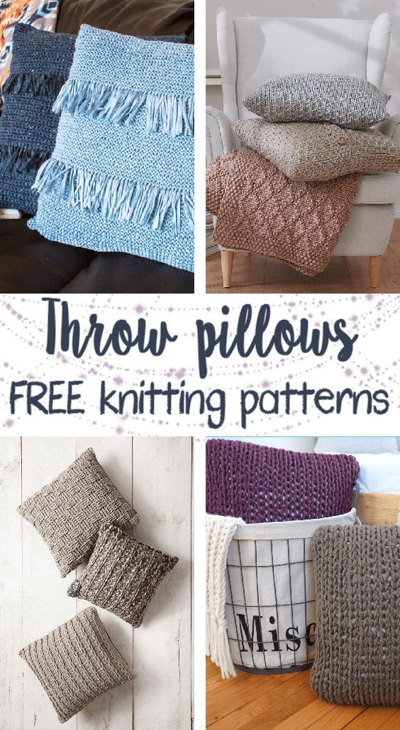 Free Knitting Patterns For Throw Pillows Creative Crochet