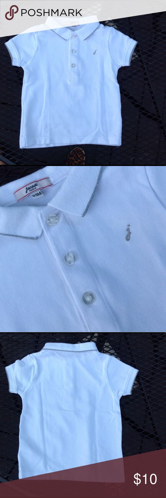 Jacadi Cotton Pique Polo Shirt Boys Size 2Y Excellent like new condition. Size 2Y(year). Jacadi Shirts & Tops Polos