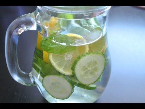 Detoxikační domácí nápoj DIY