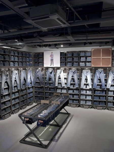 The Levi's® London flagship won top honors for Fashion Retail Interior of the Year, Visual Merchandising Solution of the Year, and Best Use of Lighting.
