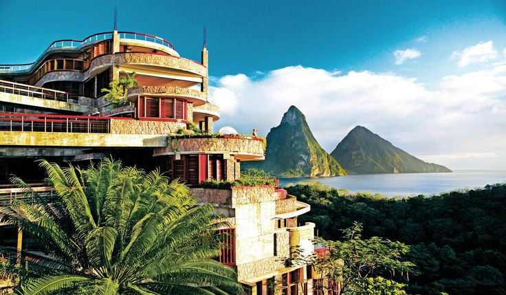 Jade Mountain, St. Lucia - Our most well-traveled (and well-heeled) friends all say theoneplace we need to go before we die is Jade Mountain.