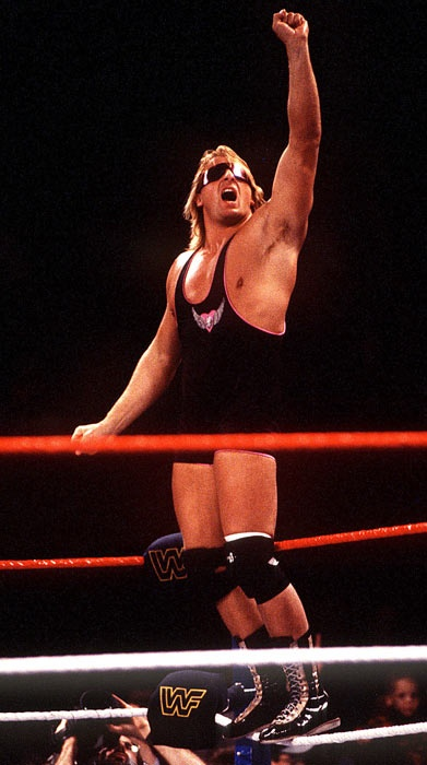 R.i.p. Owen Hart: Bret the Hitmans Hearts younger brother.
