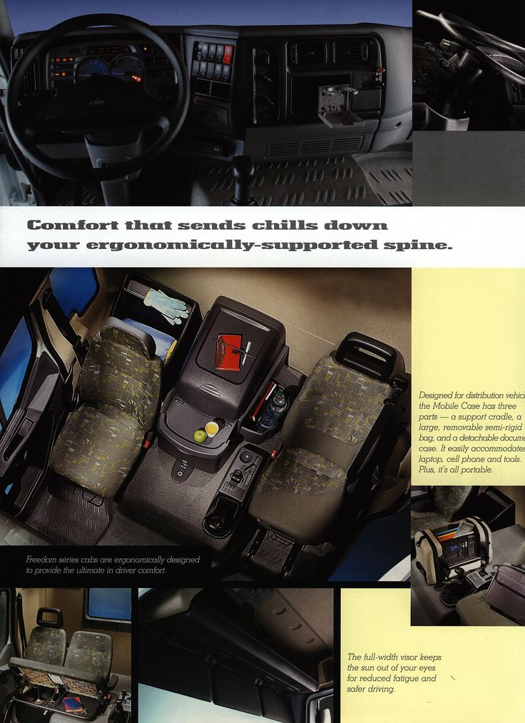 https://flic.kr/p/FzzKXB | Mack Freedom - Taking productivity and technology the extra mile. 2002_3 | truck brochure | by worldtravellib World Travel library - The Collection