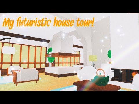 Adopt Me Aesthetic House Tour Futuristic House In 2020 Futuristic Home House Tours Adoption Dubai Khalifa