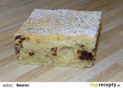 Rychlá banánová buchta recept - TopRecepty.cz