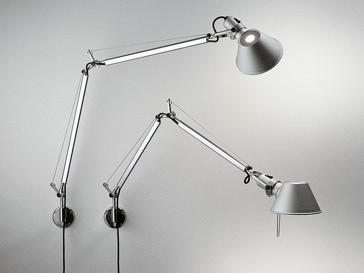 Tolomeo Wall Lamp By Artemide Wall Lights Led Wall Lamp