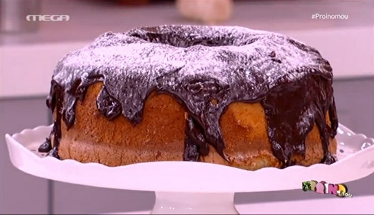 Σιφόν κέικ με πορτοκάλι και σοκολάτα