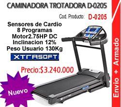 Caminadora Trotadora TR-600 Colombia Ref D-0205