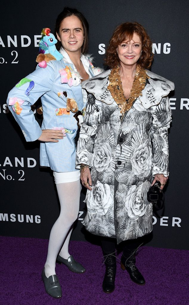 Susan Sarandon's Son, Miles Robbins, Is Our Pantless Spirit Animal in My Little Pony Blazer at Zoolander 2 Premiere | E! Online