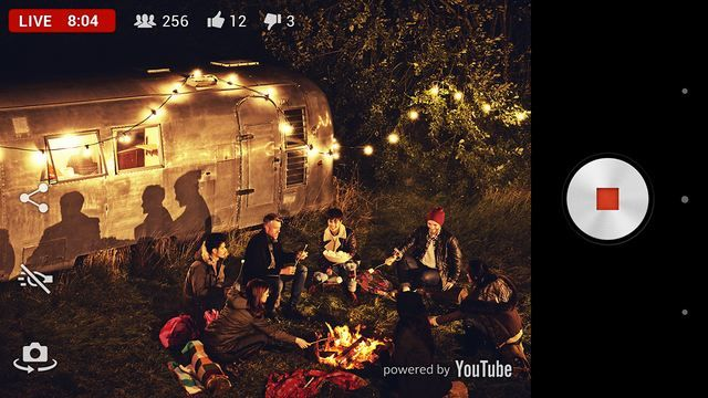 Broadcast your video live with Sony Xperia Z2