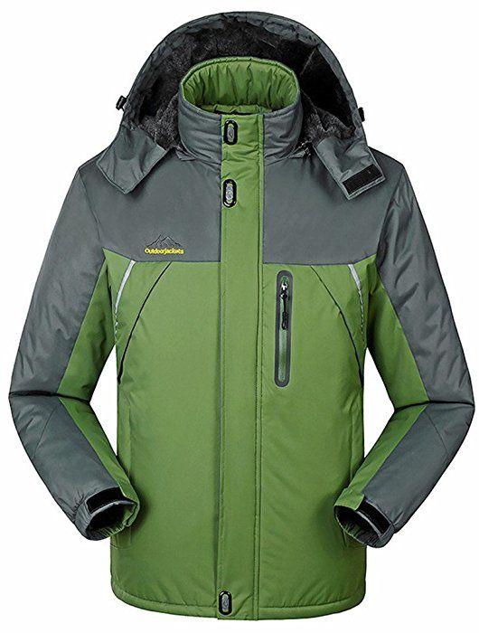 Sawadikaa Mujer Chaqueta de Esquí Alpinismo Al Aire Libre Impermeable  Chaqueta de Nieve Lana Capa Excursionismo 0c469238f8e