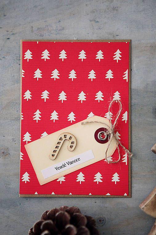 ArtStore / Stromčeky - vianočná pohľadnica